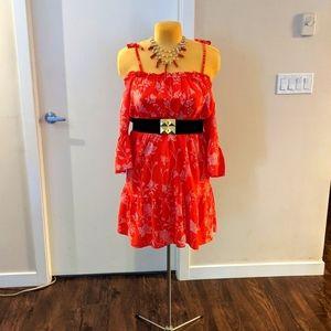 Plus Flirty Summer sz 14 H&M Off-Shoulder Dress